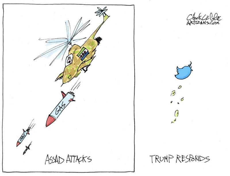 Assad gas attack
