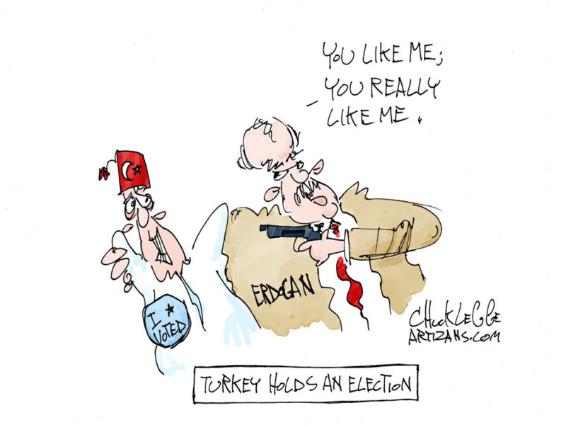 Erdogan dictates election outcome